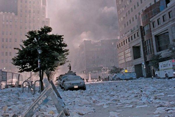 September 11, 2001 at the World Trade Center