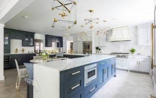 Award winning kitchen remodel from Finishing Touch Contracting