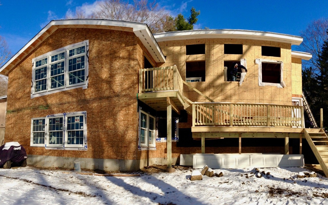 Ridgefield, NY New Construction by Finishing Touch Contracting