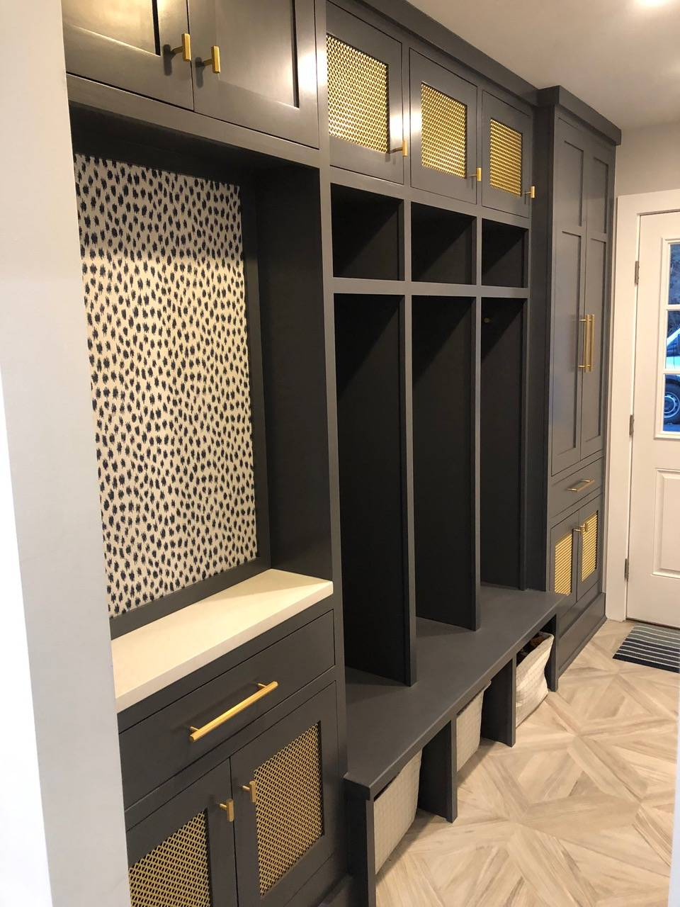 Mud Room Built-Ins by Finishing Touch