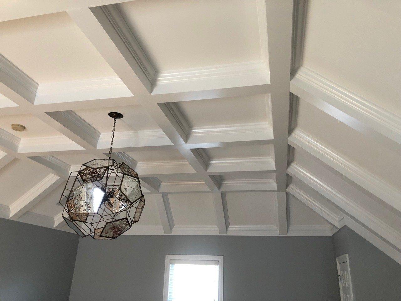 Master Bedroom Suite Custom Ceiling