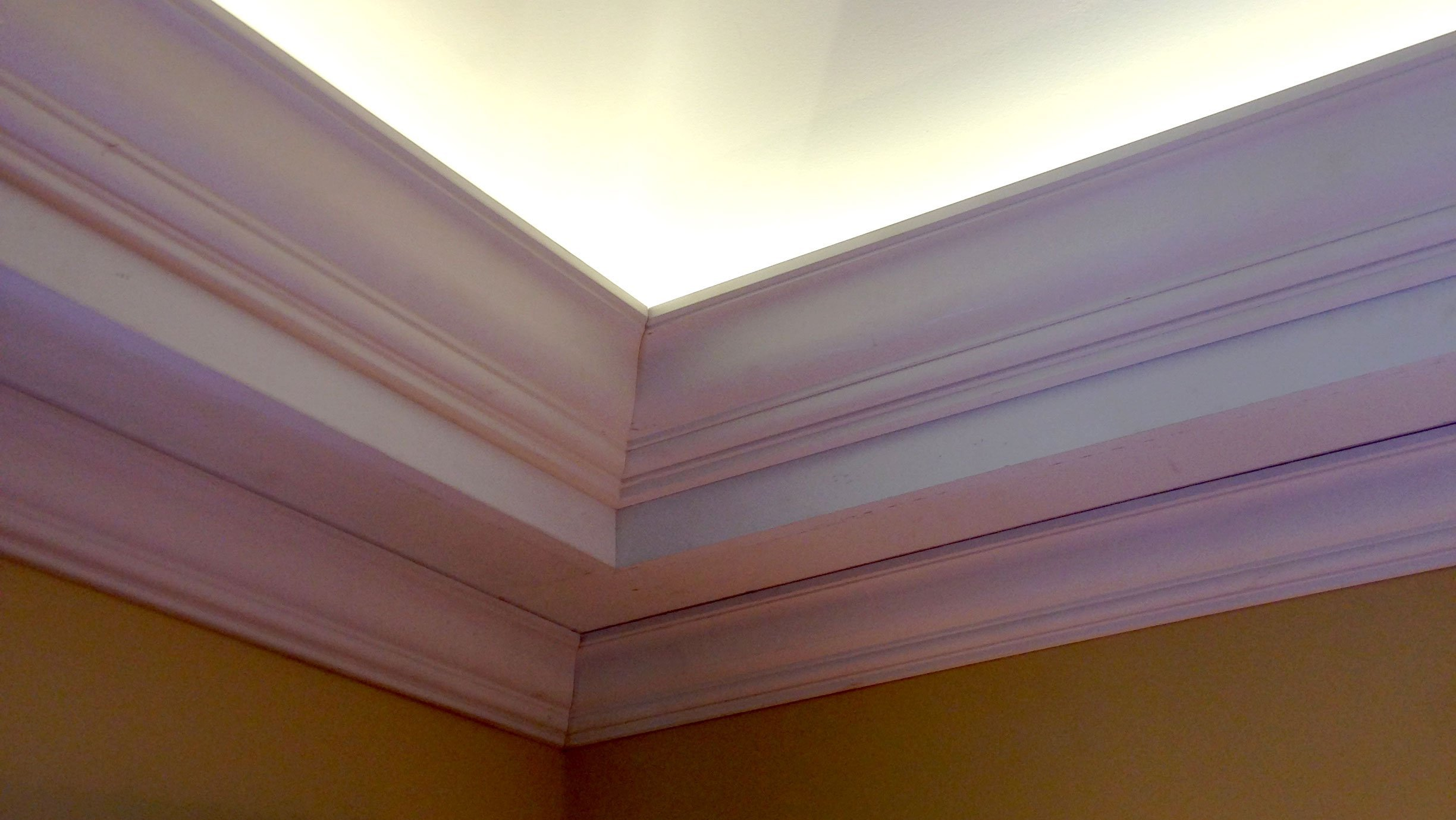 Crown Molding Installation by Finishing Touch Contracting
