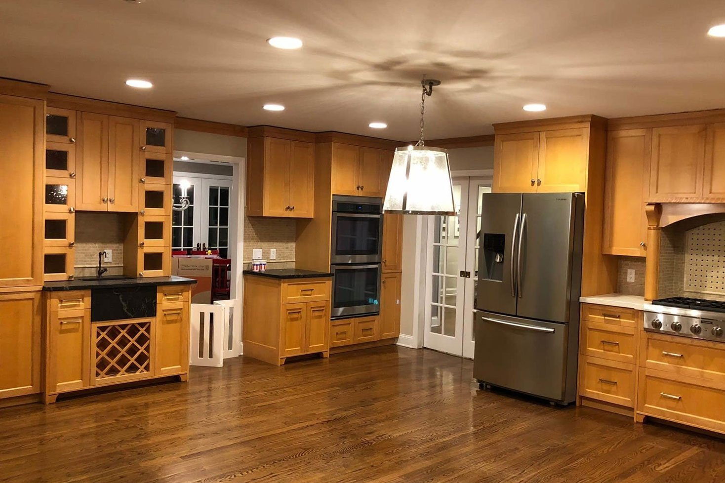 Finishing Touch Kitchen Remodel Before Shot