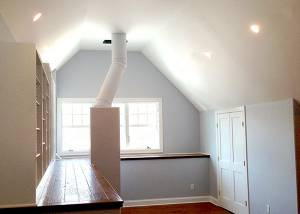 South Salem Attic remodel by Finishing Touch Contracting