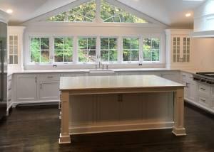 South Salem NY Custom Kitchen Island Build