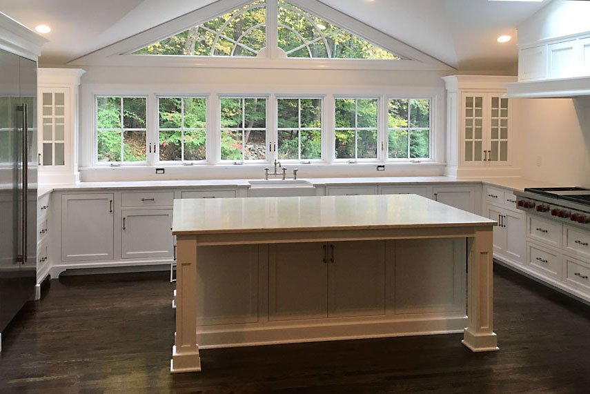 South Salem NY Custom Kitchen Island Build
