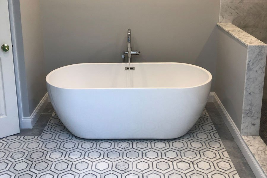 South Salem Bathroom Remodel by Finishing Touch Contracting