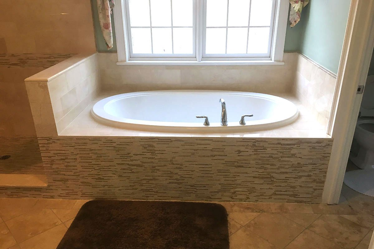 Vista, New York Bathroom Remodel by Finishing Touch Contracting