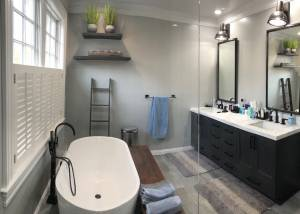 Waccabuc, New York Bathroom Remodel by Finishing Touch Contracting